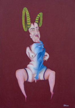 aries- me, oilpainting 70cm x 100cm